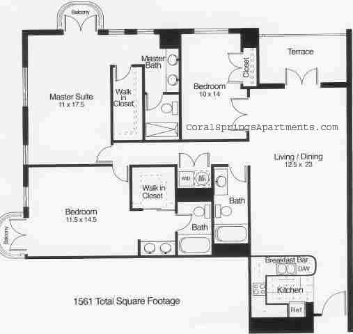 Property 155 Floorplans Boca Raton